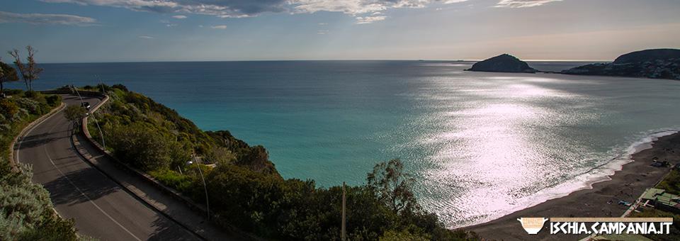 I Maronti, la spiaggia più grande dell'isola d'Ischia