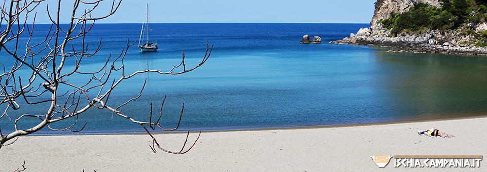 La spiaggia di San Montano. I tropici in mezzo al Mediterraneo