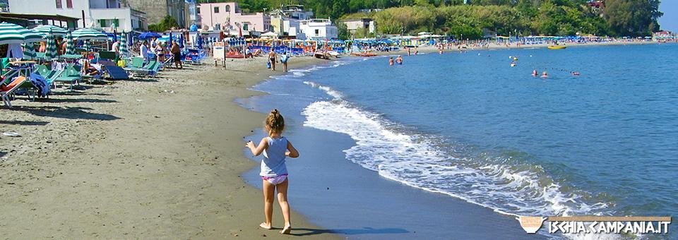 Le spiagge per famiglie sull'isola d'Ischia