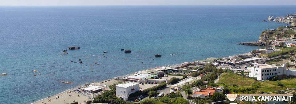 Gli hotel vicino alla spiaggia di Citara a Forio