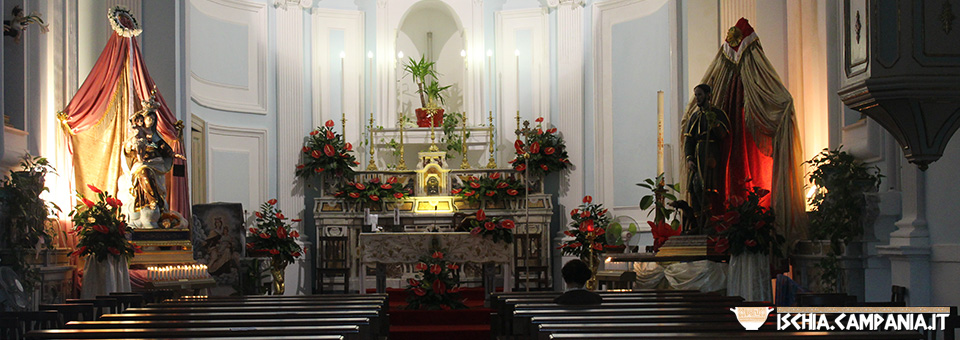 La chiesa di San Rocco a Barano