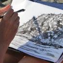 Gli Urban Sketchers a Ischia per raccontare l'isola col disegno