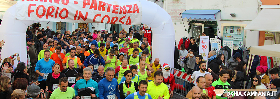 Forio In Corsa, divertirsi correndo a San Silvestro